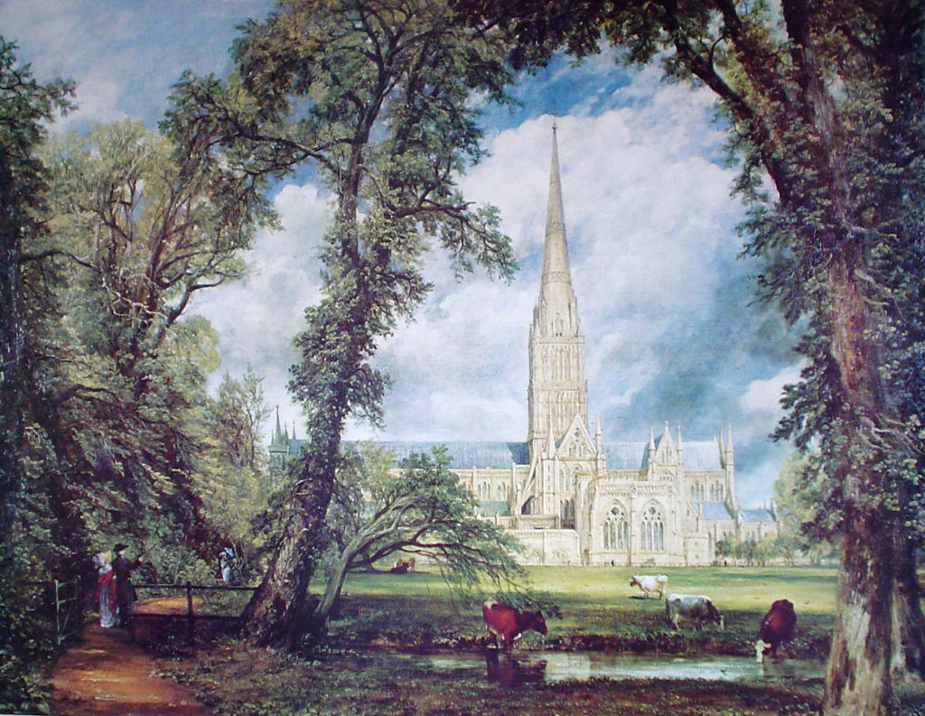 Salisbury cathedral by constable